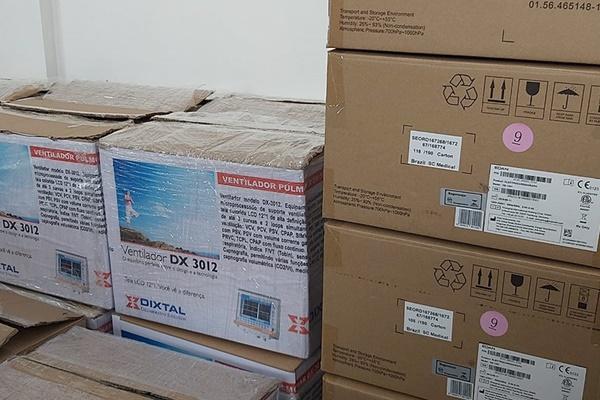 Foto/Reprodução: Compras de equipamentos médicos para combate à covid-19 são investigadas em diversos estados; em Mato Grosso, a polícia civil flagrou empresa que, em lugar de ventiladores, entregou outros produtos